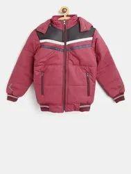 Plain Kids Full Sleeve Winter Jacket