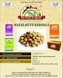 Blanched Hazel Nuts Hazelnuts, Packaging Type: Plastic Box Sacks Vacuum Bag