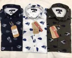 Printed Collar Shirts