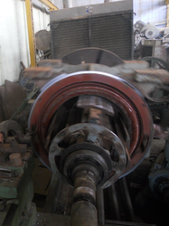 Alstom 3 Motor Body Sheet Repair, Power: 450 KW, 415