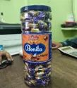 Peutone Toffee Bonivta Soft Candy 220 Pic With Tatto, Packaging Type: Plastic Jar, Packaging Size: 20 Jar