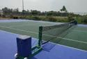 Lawn Tennis Pole Movable