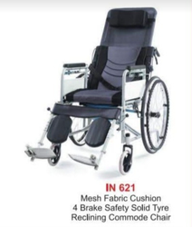 Commode Reclining Wheelchairs