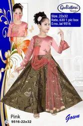 9516 Kids Party Wear Gown
