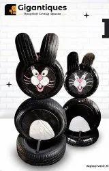 Rabbit In Tyre Furniture