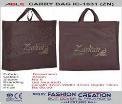 Able Brown Non Woven Carry Bag