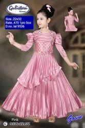 9536 Kids Party Wear Gown