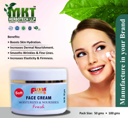 MKT Unisex Face Cream, Packaging Size: 50g & 100g