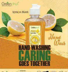 Greenphyll Gel Lemon Hand Wash, Packaging Type: Pet Bottle, Packaging Size: 250 Ml