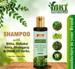 MKT Herbal Hair Shampoo, For Personal & Parlour, Packaging Size: 100g & 200g