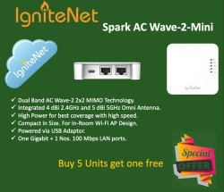 30 Meter 2.4 Ghz And 5ghz Wall Plate Access Point, 1200 Mbps, Model Name/Number: SP-W2-Mini