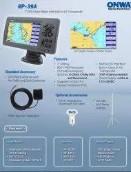 ONWA KP-39A 7-inch GPS Chart Plotter With Class B+ AIS Transponder