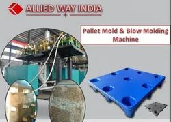 Pallet Mold And Blow Molding Machine
