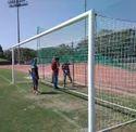 Football Goal Pole Fixed Type MS