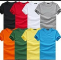 Plain Men Jw Liverpool Round Neck Polyester Cotton T-shirt 200-210(gsm)