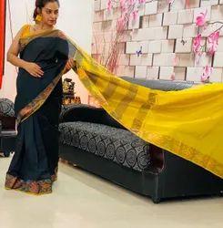 Pochampally Silk Cotton Saree