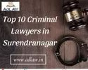 Top 10 Criminal Lawyers In Surendranagar, Application Usage: Lawfirm