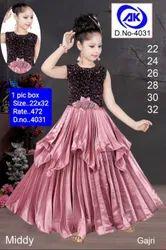 4031 Kids Party Wear Gown