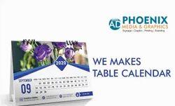 Paper Table Calendar Printing Service