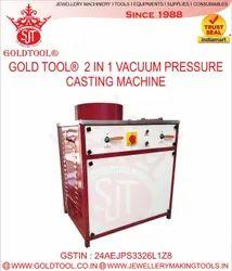 Gold Tool 2 In 1 Vacuum Pressure Casting Machine