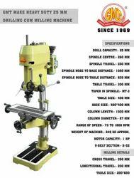Gmt Make Drilling Cum Milling Machine