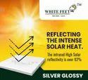 Heat Resistant White Tile - White Feet Tile - Silverplus