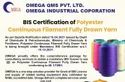 Consultancy for BIS Certification Polyester Continuous Filament Fully Drawn IS 17261
