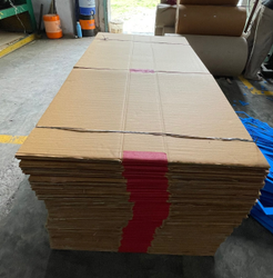 Brown Rectangular Golden Corrugated Box, Weight Holding Capacity (KG): 11 - 25 KG