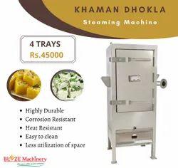Khaman Dhokla Making Machine