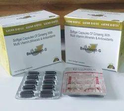 Ginseng, Multivitamin, Multiminerals & Antioxidants Soft Gel Caps
