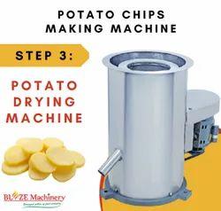 Potato Drying Machine for Wafers making