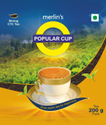 Merlin's Strong Premium CTC Tea , Popular Cup, 200g