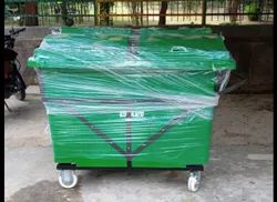 660l Plastic Wheeled Garbage Bin