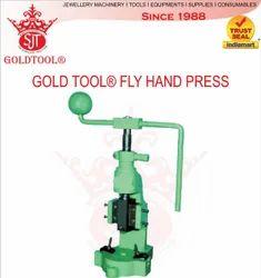 Mild Steel Gold Tool Hand Press, Automation Grade: Manual