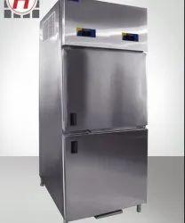 SS Two Door Vertical Refrigerator