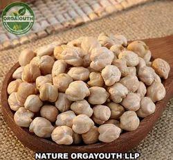 Indian Organic Kabuli Chana / Chickpea / Garbenzo, Packaging Size: 50 Kg
