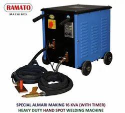 Ramato Hand Spot Welding Machine for Steel Almarih
