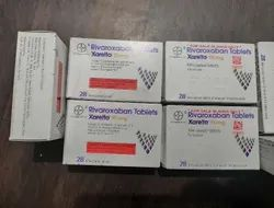 Xarelto Rivaroxaban 20 Mg Tablets