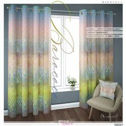 Multicolor Polyester Premuin Digital Print CURTAINS For Door