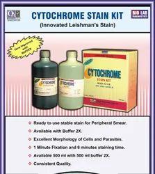 Cytochrome Stain Kit For Malaria Testing