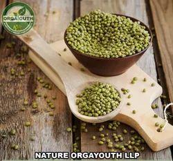 Indian Organic Moong Whole / Moong Sabut / Green Gram Whole, Packaging Size: 50 Kg