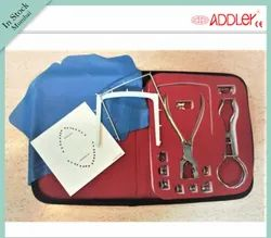 Stainless Steel Dental Rubber Dam Kit With 9 Clamp & Clamp Holder Addler, For Clinical, Packaging Type: Box