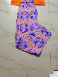 Baniyan Stitched Women Pyjama, Machine Wash