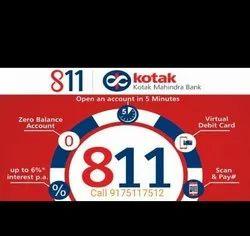 Kotak Mahindra Bank 811 Zero Balance Savings Account Open Here