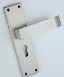 Stainelss Steel SS Mortise Handle Lock, Chrome