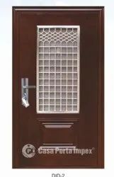Polished Decorative Iron Door, Thickness: 15mm