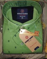 HOORAY HARRIS 100% Cotton Shirt, Size: M L Xl