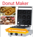 Electric Mini Donut Making Machine