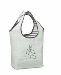 Dharas Printed Ladies Designer Cotton Shoulder Bag, For Office, Size: W12 X H20 D6
