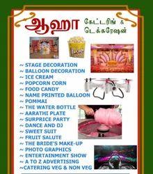 Catering and Decoration Purple Event Organisers, Villupuram